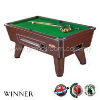 Supreme Pool 7ft Winner English Pool Table